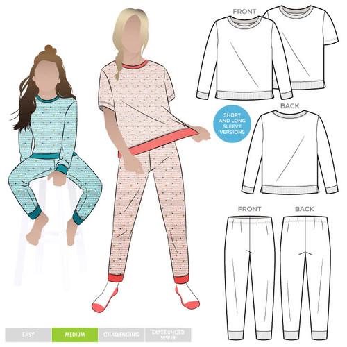 Style Arc Children's PJ Pattern