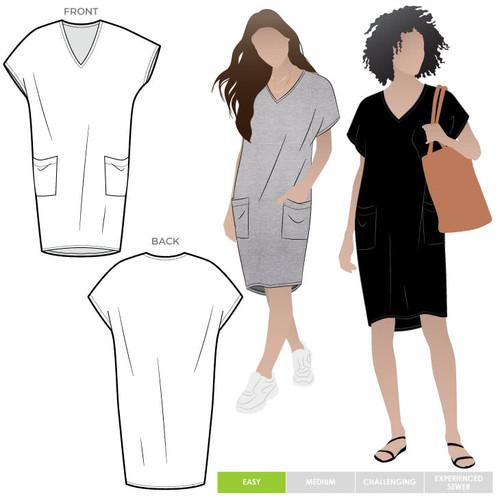 Kitt Knit Dress Size 4-16 (UK 6-18)