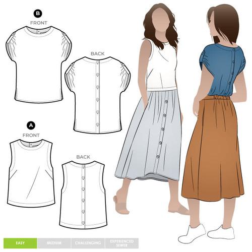 Bonnie Woven Tops Size 18-30  (UK 20-32)