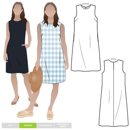 June Sheath Dress Size 4-16 (UK 6-18)