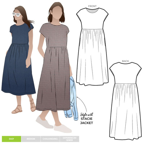 Montana Midi Dress Size 18-30 (UK 20-32)