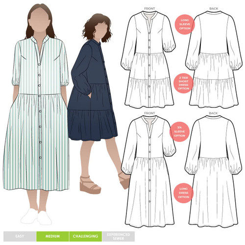 Emerson Dress Size 18-30 (UK 20-32)