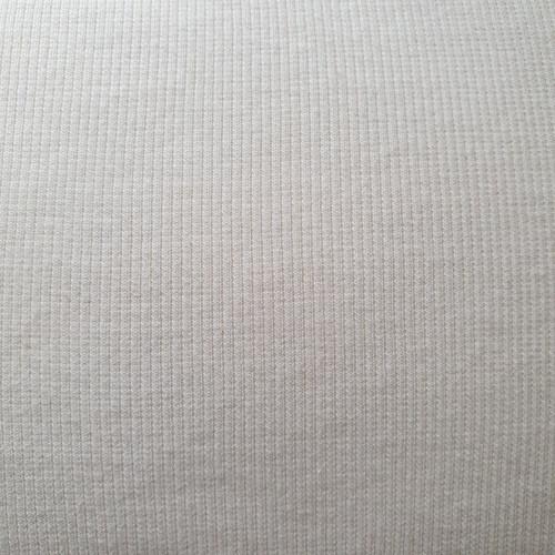 Tubular Cotton Ribbing in Cream