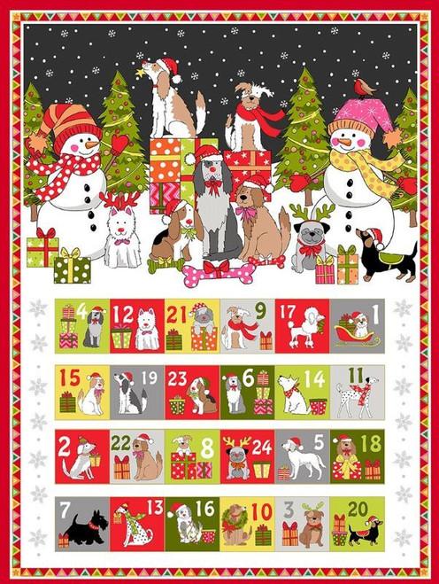 Yappy Dogs by Makower - Advent Calendar