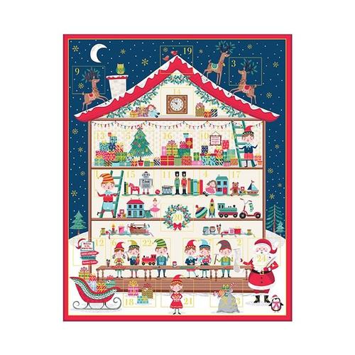 Santa's Workshop by Makower - Advent Calendar