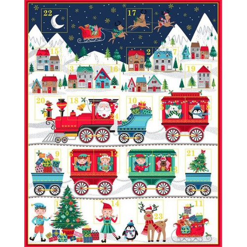 Santa Express Advent Calendar Kit