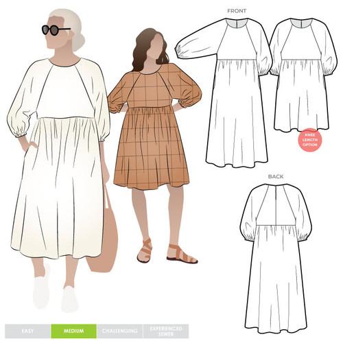 Hope Woven Dress 4-16 (UK 6-18)