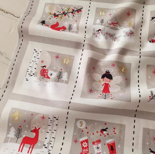 Woodland Christmas Advent Calendar by Jane Farnham