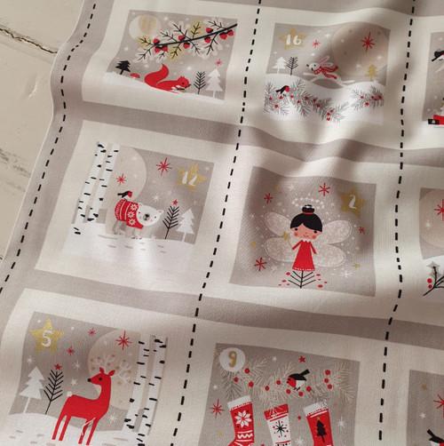 Woodland Christmas Advent Calendar Kit