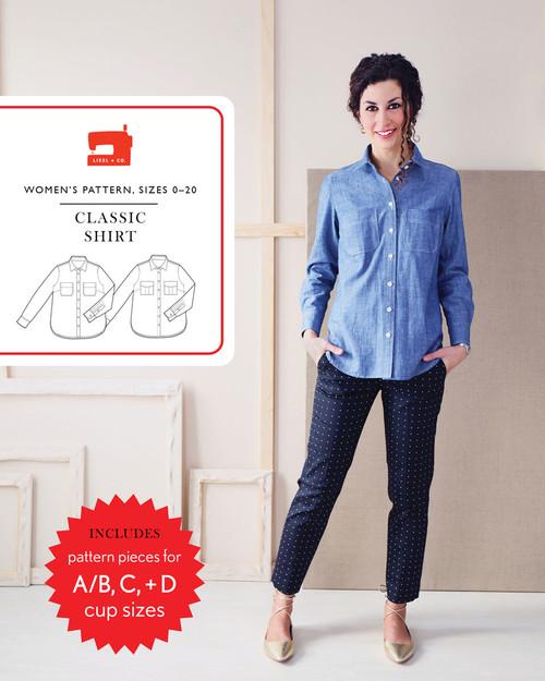 Classic Shirt Pattern by Liesl + Co