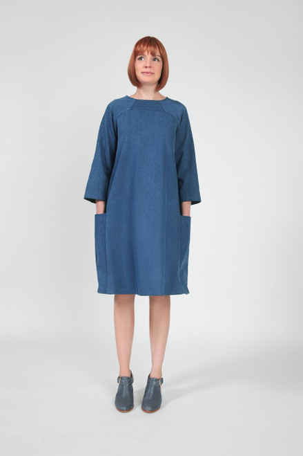 Rushcutter Dress Pattern by In The Folds