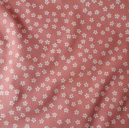 Daisy Floral Poplin in Pink