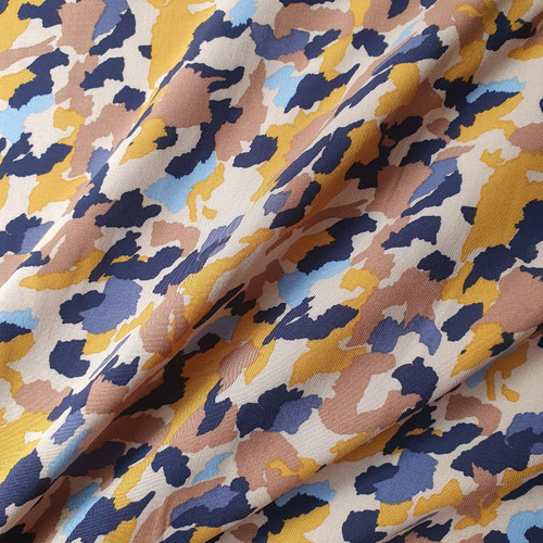 Painted Camo Viscose in Sand