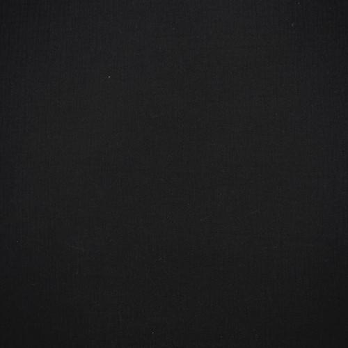 Cotton Double Gauze in Black