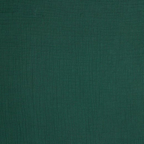 Cotton Double Gauze in Vintage Green
