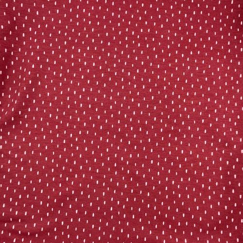 Ditsy Stripe Sweatshirt Jersey in Berry