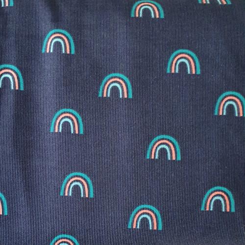 Rainbow Baby Needle Cord in Navy