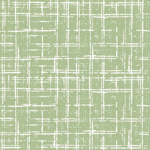 Afternoon in the Park- Plaid in Green