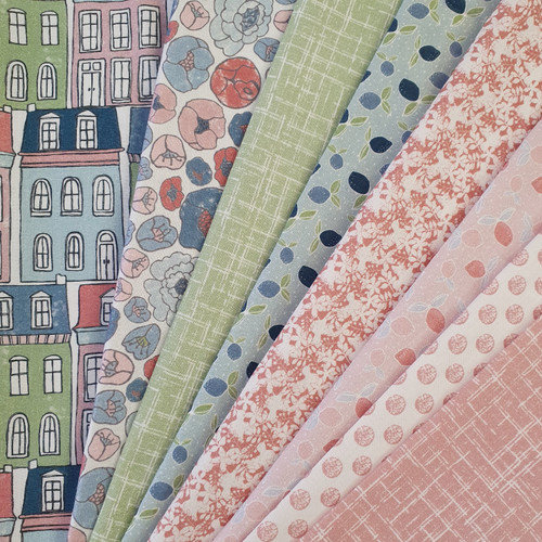 Afternoon in the Park, Lynn Clark fabric, Rivers Bend