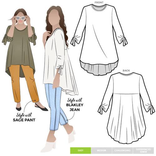 Oakley Knit Tunic Pattern Size 18-30 (UK 20-32))