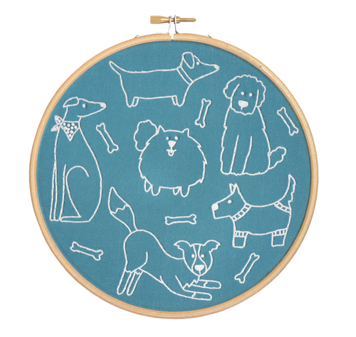 Dandy Dogs Embroidery Kit
