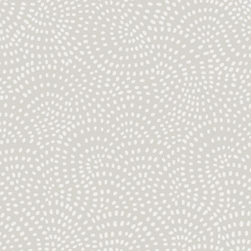 Twist Spot Fabric in Silver