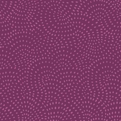 Twist Spot Fabric in Plum