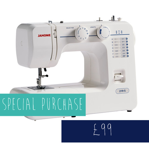 Janome 219-S Sewing Machine  £99