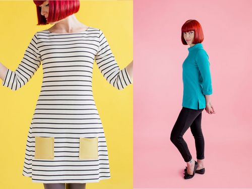 Coco Jersey Top, Tunic or Dress workshop at The Sewing Cafe