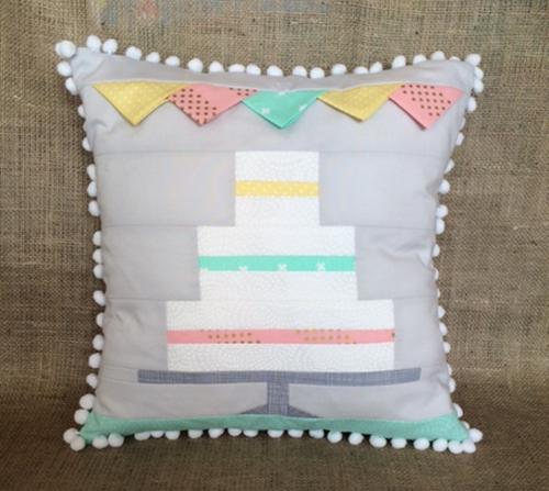 Let's Celebrate - Wedding Cake Patch Cushion Kit
