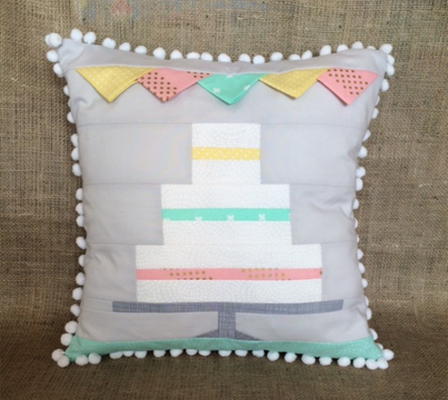 Let's Celebrate - Wedding Cake Patch Cushion Kit