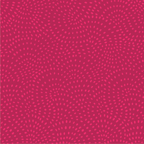 Twist Spot Fabric in Cherry