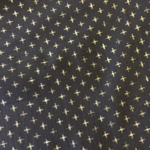 Indigo Cotton in Crosses