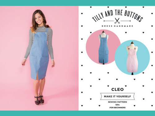 Cleo Dungaree Dress