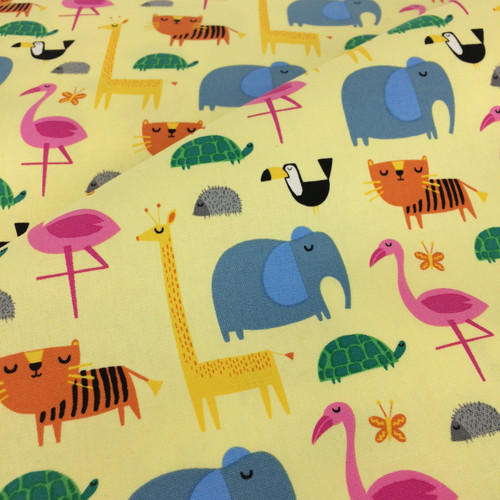 Sevenberry Animals in Yellow