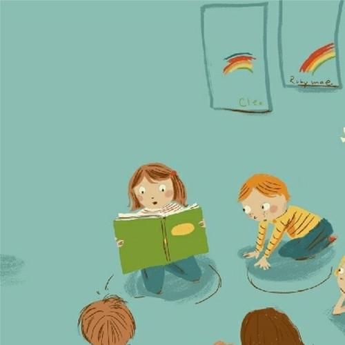 Kindergarten in Blue - Kinder by Heather Ross
