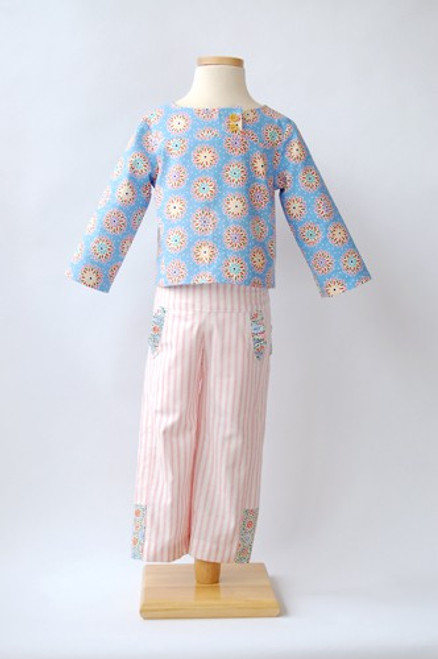 Oliver + S After School Shirt and Trousers Pattern