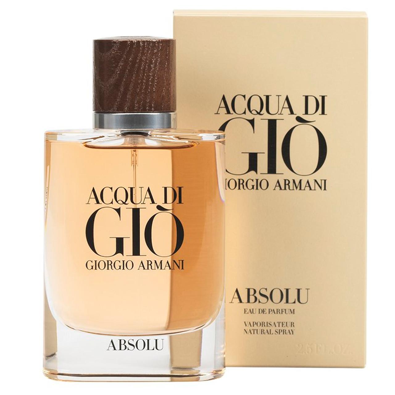 3d92541acd8eb1 Acqua Di Gio Absolu By Giorgio Armani For Men - Perfume X