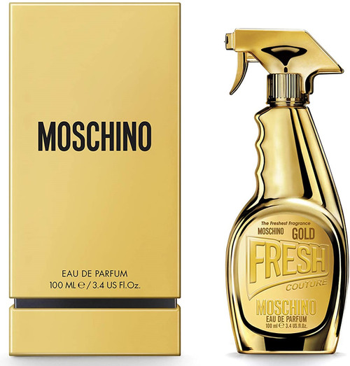 Moschino Gold Fresh Couture By Moschino For Women
