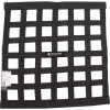 ALL10280, WINDOW NET BORDER STYLE 18 X 18 SFI BLACK