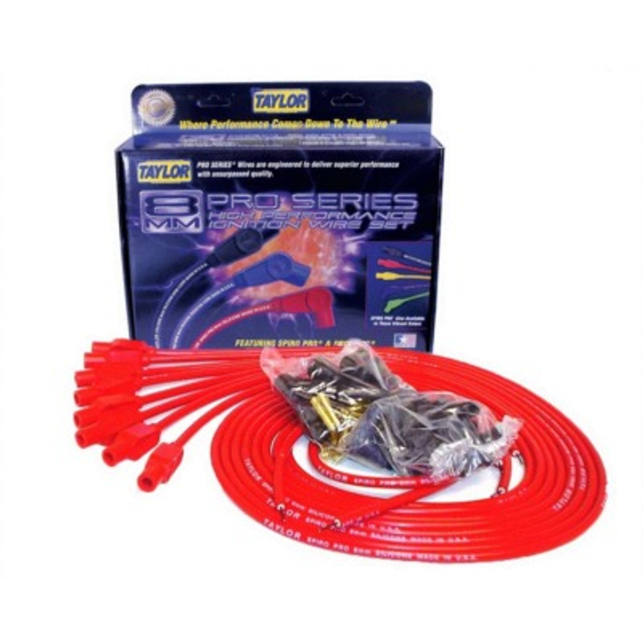 TAY73255, 8MM RED SPIRO-PRO WIRES