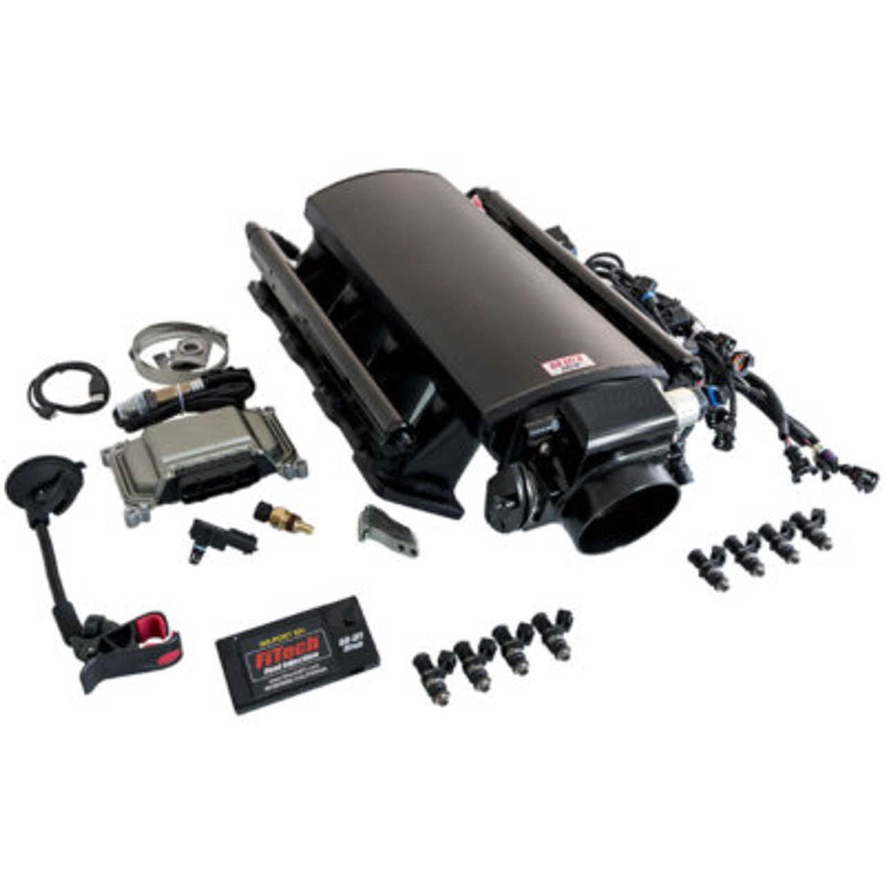 FIT70001, FITECH, ULTIMATE EFI LS CATHEDRAL PORT KIT 500 HP W/O TRANS CONTRO