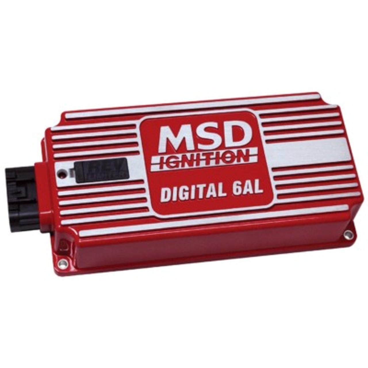 MSD6425, 6AL DIGITAL IGNITION CONTROL BOX w/REV LIMITER