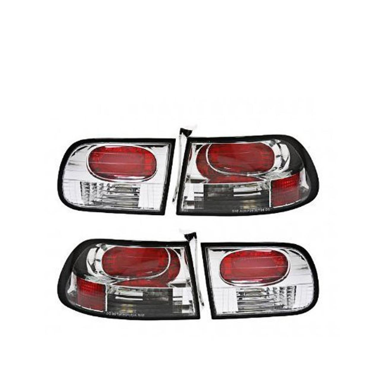 APC404151TLR, APC,Honda Civic 92-95 3-Door Euro Tail Lens