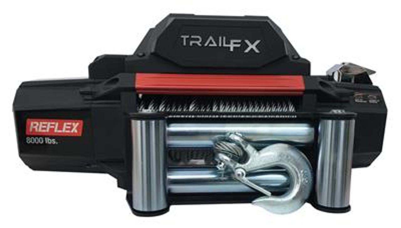 TFXWR95B, TRAIL F/X, Winch TFX Reflex Winches, 9500lb, Vehicle Mounted,
