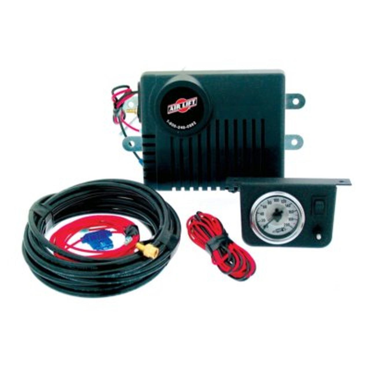 AIR25804, Air Compressor, Suspension, 160 psi Max, 12V, Single Gauge