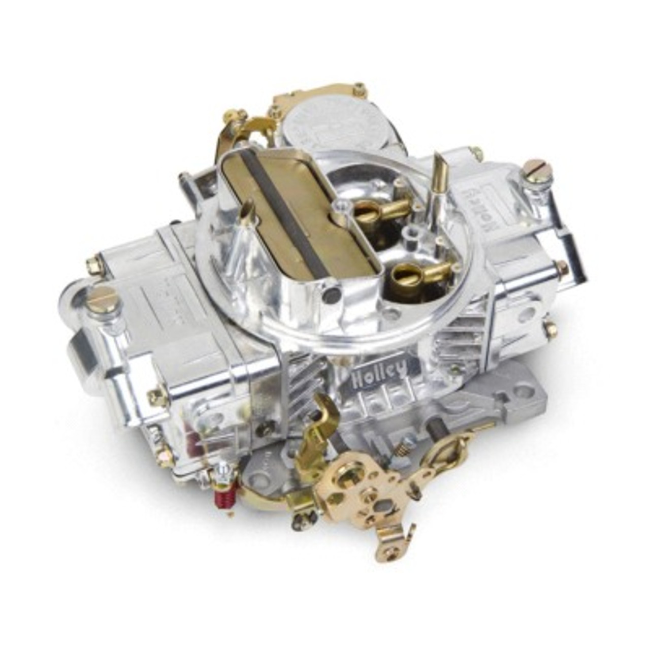 HLY0-3310SA, Carburetor, Model 4160, 4-Barrel, 750 CFM, Square Bore, Manual Choke, Vacuum Secondary, Dual Inlet, Polished, Each