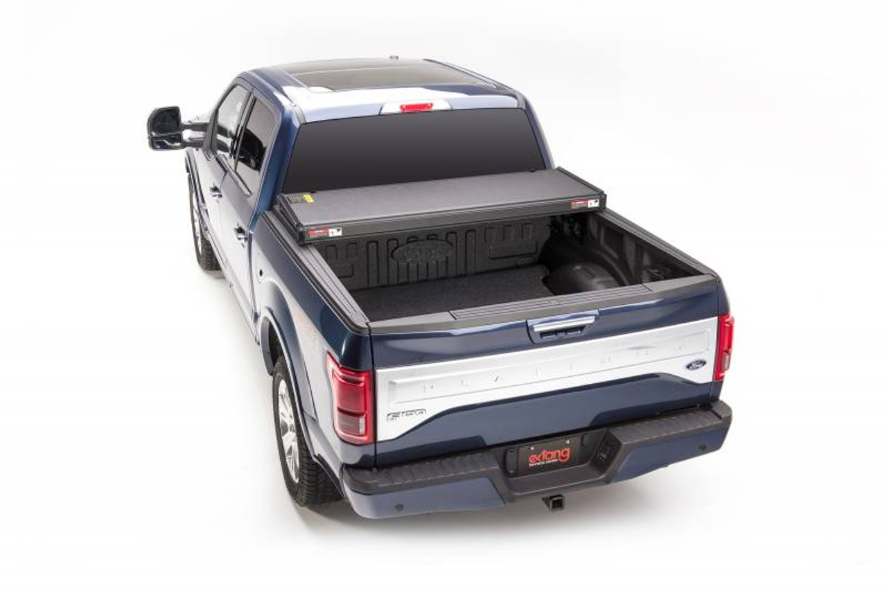EXT83475, 2015-2019 FORD F-150 5.5' BED EXTANG SOLID FOLD 2.0 TONNEAU COVER