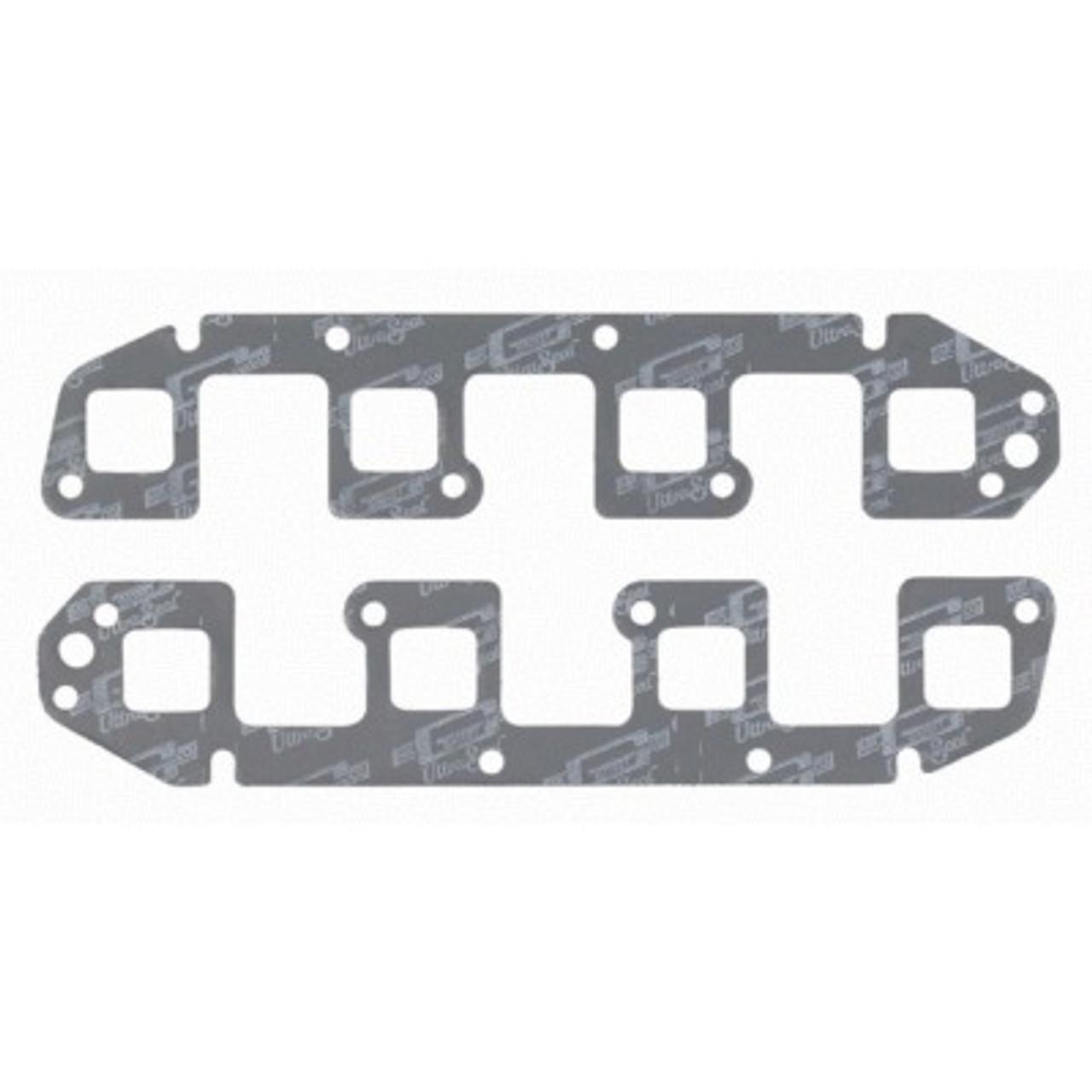 MRG7594, Exhaust Manifold / Header Gasket, Ultra-Seal, 1.450 x 1.470 in Rectangle Port, Steel Core Laminate, Mopar Gen III Hemi, Pair
