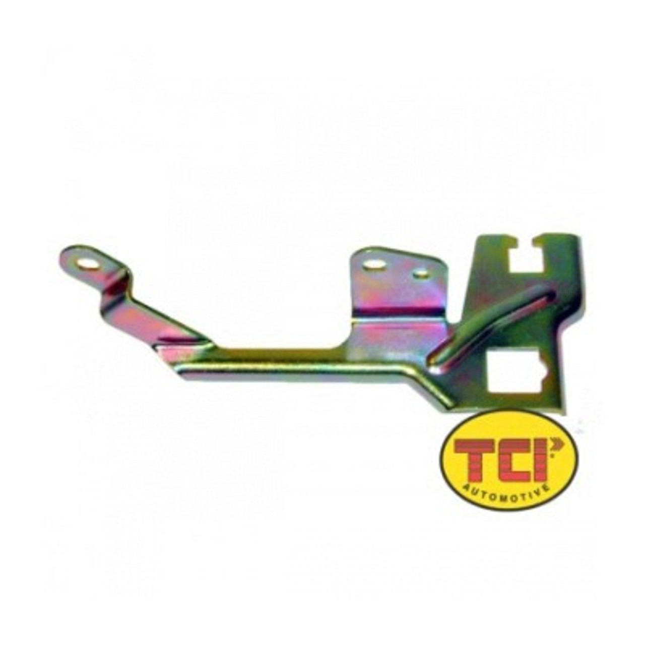 TCI376700, Kickdown Cable Bracket, Edelbrock / Quadrajet Carburetor to 200R4 / 700R4, Kit